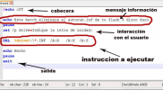 como crear un archivo batch
