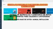 sistema de matricula y notas php mysql