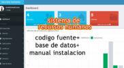 software de recursos humanos php mysql