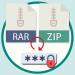 como recuperar la contraseña de los archivos rar y zip