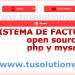 sistema de facturacion e inventario en php y mysql